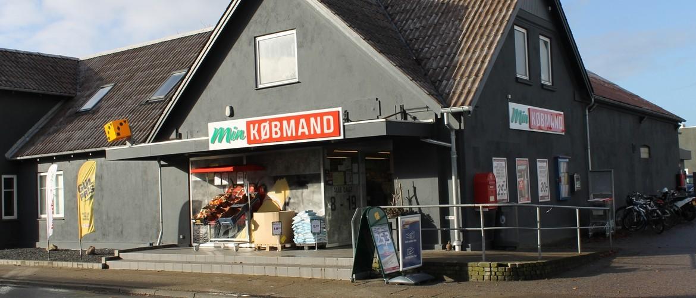 min købmand butikker